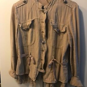 Lightweight Linen Jacket from Free People